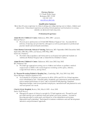 nursing resume sample telemetry nurse must see student resume nursing resume sample telemetry nurse pediatric nurse resume getessayz pediatric nurse examples in