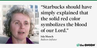 Image result for starbucks red cup memes