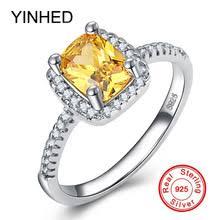 YINHED Оригинальное твердое <b>кольцо</b> из стерлингового ...