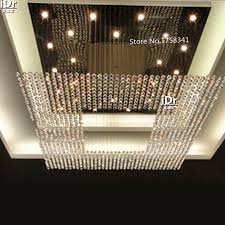 new modern europe string big crystal high grade light chandelier hotel lobby chandelier lighting l1000xw1000xh1500mm cheap chandelier lighting
