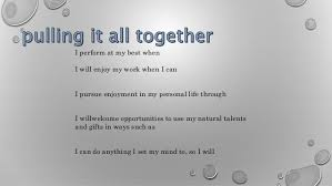 personal mission statement  so i will 14