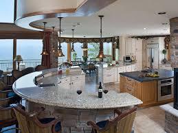 unique kitchen curved
