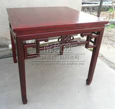 015d small square table priced hotel restaurant pavilion antique imitation mahogany wood office furniture dining tables antique office table