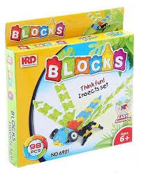 Купить <b>Конструктор Shantou Gepai</b> HRD BLOCKS 6921 Cтрекоза ...