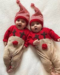 <b>Newborn</b> Kid <b>Baby</b> Christmas Boys Girls Clothes Jumpsuit+Hat ...
