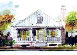 House Plans by John Tee  Holly GroveFront Color Rendering Main Level Floor Plan Color Photo Architect Rendering Artist Rendering
