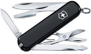 <b>Нож перочинный Victorinox Executive</b> 74 мм 10 функций (черный ...