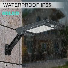 <b>LED Solar</b> Power <b>Motion Sensor</b> Garden Street Lamp <b>Outdoor</b> ...