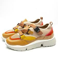 Fujin Casual Shoes <b>Women's</b> Spring Autumn Sneakers <b>Buckle</b> Strap ...