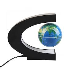 Online Shop 3 inch <b>C Shape</b> Magnetic Levitation Floating Globe ...