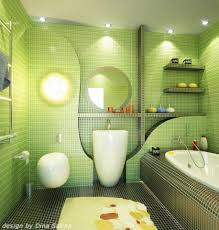 amazing bathroom with bright light white tub wall decoer and green wall tiles image amazing amazing bathroom lighting