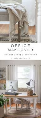 check out the transformation of this gorgeous home office decorated charming desk office vintage home