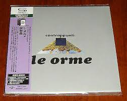 <b>Le Orme Contrappunti</b> Mini LP SHM CD Japan Uicy-94526 for sale ...