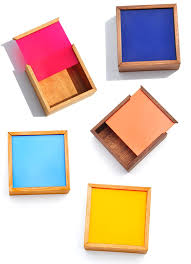 These <b>Square Color</b> Chip Boxes, one of the <b>newest arrivals</b> at Leif ...