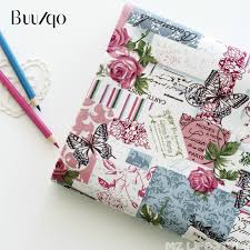 <b>Buulqo</b> Printed Flower & Butterfly cotton and <b>Linen Fabric</b> by <b>meter</b> ...