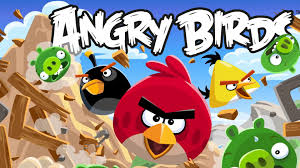 Papercraft Angry Birds.