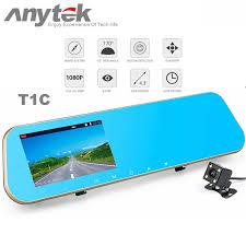 <b>New</b> Anytek T1C <b>4.3</b> Inch HD Car Rear View Mirror <b>Dash Cam</b> DVR ...
