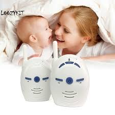 Loozykit 2.4GHz <b>Wireless Baby</b> Portable <b>Digital Audio Baby</b> Monitor ...
