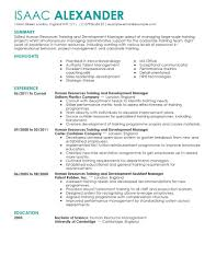 best training and development resume example livecareer create my resume