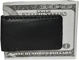 <b>Men's New Leather</b> Strong Magnetic Money Clip