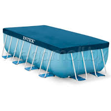 <b>Тент</b> для прямоугольных каркасных бассейнов 400x200 см <b>Intex</b> ...