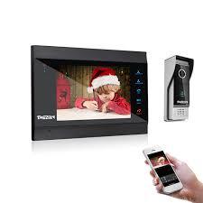 tmezon <b>video intercom</b> door phone with snapshot and video recording