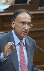 El portavoz del PSOE en el Parlamento, Manuel Fajardo. - 000000570310