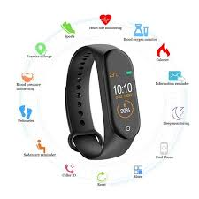 Buy <b>M4 Smart band Fitness</b> Tracker Watch Sport bracelet Heart Rate ...