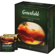 Чай Greenfield <b>Golden</b> Ceylon черный 100 пакетиков – выгодная ...