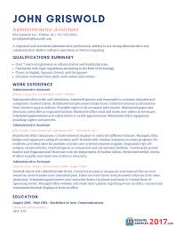 sample resume for administrative assistant 2016 what to write sample resume for administrative assistant 2017