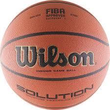 <b>Мяч баскетбольный Wilson</b> Solution B0616X р. 7