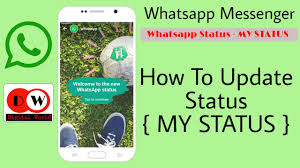 Image result for whatsapp new feature status