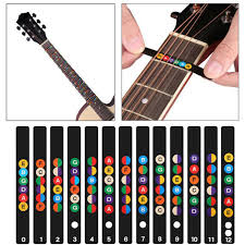 <b>Guitar Scale Stickers Sound</b> Name Stickers Self-study Electric Guitar ...