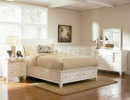 bedroom cozy white furniture set