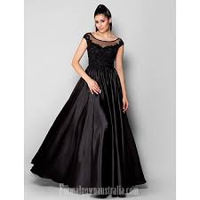 Australia <b>Formal</b> Dress Evening Gowns <b>Black</b> Plus Sizes Dresses ...