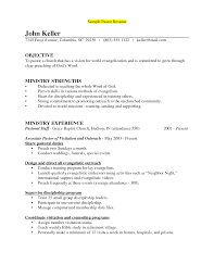 pastor resume sample com pastor resume sample to get ideas how to make chic resume 1