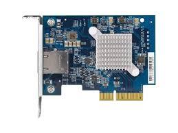 <b>QNAP</b> INC <b>QXG</b>-<b>10G1T SINGLE</b>-<b>PORT</b> (<b>10GBASE</b>-<b>T</b>) 10GBE CARD ...