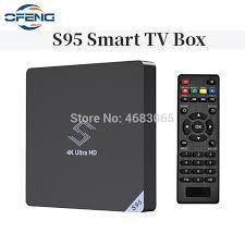 Amlogic S905X2 Android 8.1 <b>S95 TV BOX</b> 4GB LPDDR4 32GB 2.4 ...