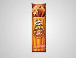 Pumpkin Spice Pringles.