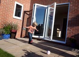 pvc upvc aluminium bifold sliding folding doors 3 pane diy home decor ideas cheap bi fold doors home office