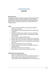 s associate job description cashier job description     s associate job description cashier job description