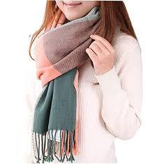 Womens <b>Scarf</b> - <b>Winter Ladies Warm</b> Tartan Blanket <b>Scarf Shawl</b> ...