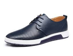 XMWEALTHY <b>Men's British Style</b> Breathable Flat Dress Shoes ...