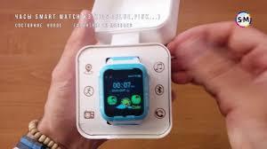 Умные детские часы <b>Smart Watch</b> K3 Kids. Обзор, рaспаковка, тест
