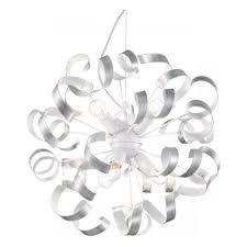 Подвесная <b>люстра Ideal Lux Vortex</b> SP6 Argento — купить в ...