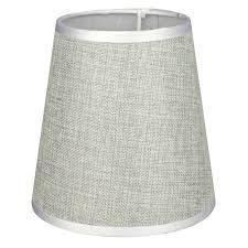 <b>абажур</b> А16228 ткань+пленка ПВХ Е14Х <b>40Вт</b> Лен серый | www ...