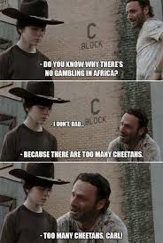 31 of the best dad jokes told by Walking Dead's Rick Grimes : theCHIVE via Relatably.com