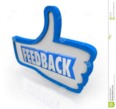 feedback word blue thumb up positive comments stock image image feedback word blue thumb up positive comments