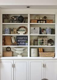 decoration built bookshelves ideas full