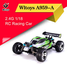 Wltoys <b>A959-A</b> 2.4G <b>1/18</b> 4WD 35km/h 50km/h Racing Car High ...
